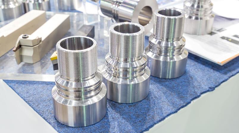 CNC Teile nach CNC Fräsen und CNC Drehen